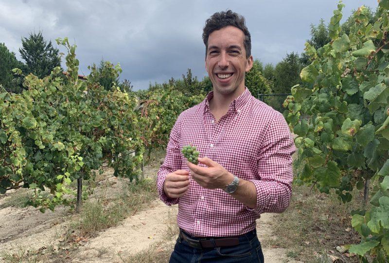 Tiago Soares - Wine Producer - Portrait at the Vineyard